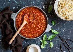 Il ragù di lenticchie per una allettante alternativa vegetariana