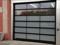 Awesome Frosted Glass Garage Door Cost
