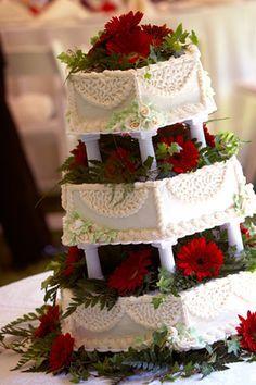 christmas wedding cake ideas - Google Search