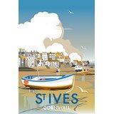 St Ives Harbour Print