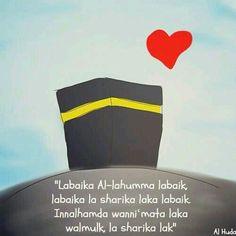Labbaik Allah humma labbaik Labbaik la sharika laka labbaik Innal hamda Wan-ni'mata Laka walmulk Laa sharika lak
