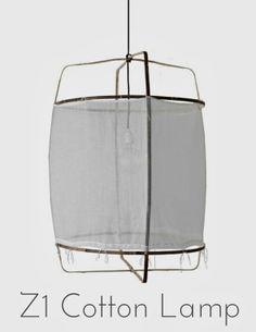Z1 Cotton lamp, objeto de deseo