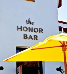 The Honor Bar | for elevated bar food