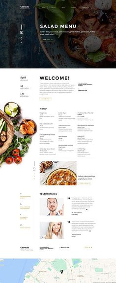 Getracto - Italian Restaurant Responsive Website Template is a mobile-friendly, fully-featured eCommerce project intended to build buzz around your business. Website Design Inspiration, Website Menu Design, Restaurant Website Design, Restaurant Website Templates, Food Menu Design, Website Design Company, Food Website, Design Blog, Website Ideas