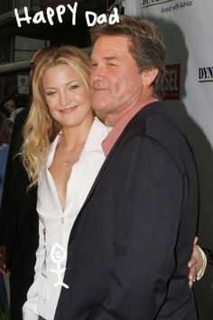 Kurt Russell Excited About Kate Hudson's Pregnancy - Perez Hilton Goldie Hawn Kurt Russell, Expecting Baby, Kate Hudson, Hollywood Stars, Dimples, Cute Couples, Movie Stars, Getting Married, Famous People