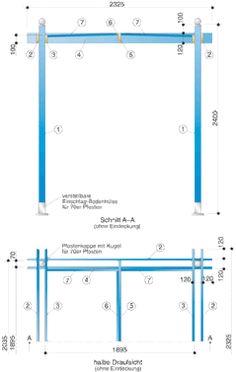 pavillon selber bauen mit einfachen mitteln carport pinterest mehr ideen zu pavillon. Black Bedroom Furniture Sets. Home Design Ideas