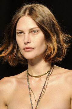 Hot Runway Short Layered Hairstyle