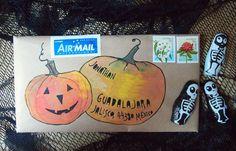 Halloween mail-art …