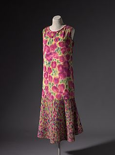 Dress | Kathleen O'Connor | France | 1925 | painted cotton | National Gallery of Australia | Accession #: NGA 81.2495
