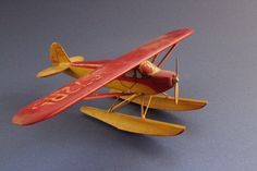 Model Plane, Model Airplane, Folk Art, Wood Airplane, Wooden, Plane, Airplane…