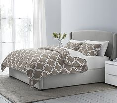Liking this duvet for master bedroom in wheat color