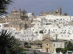 Ostuni, Italy.  One of the most beautiful cities in Italy and incredibly welcoming residents.  Located on the Adriatic Sea in the Apulia region in Southern Italy