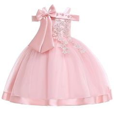 Birthday girl dress - Baby Girls Flower Silk Princess Dress for Wedding Party Children Big Bow Tutu Kids Dresses for Toddler Fashion Night gown girls – Birthday girl dress Stylish Dresses, Sexy Dresses, Girls Dresses, Dresses Uk, Elegant Dresses, Birthday Girl Dress, Birthday Dresses, Party Dresses, Birthday Outfits