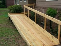 Image result for Wheelchair Ramp Construction