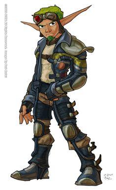 Cartoon Video Games, Video Game Characters, Fictional Characters, Character Creation, Character Art, Character Design, Dexter, Beginner Sketches, Jak & Daxter