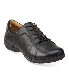 Love this Black Un Honey Leather Sneaker on #zulily! #zulilyfinds