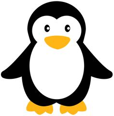 Penguin Clipart - baby penguin, cute, penguin, simple, small - PRO CLIP ARTS