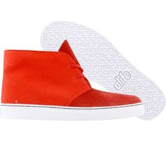 ALIFE Chuck - Suede (red)