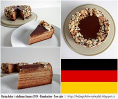 Baumkuchen - January 2014 The Daring Bakers Challenge Baking Recipes, Challenge, Ethnic Recipes, Sweet, January, Cake, Food, Tree Cakes, Cooking Recipes