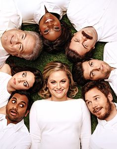 "The cast of Parks and Recreation recently finished filming their final season (capped off with a heartfelt performance of Candles in the Wind""), and now they reveal the scenes they wanted to shoot but never got to. - Parks and Rec. Parks And Recreation, Parks And Rec Cast, Parks And Recs, Best Tv Shows, Best Shows Ever, Favorite Tv Shows, Movies And Tv Shows, Parks Department, Leslie Knope"