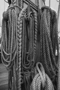 L'Hermione - Frigate ropes