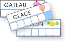 Atelier des mots Preschool Food, Preschool Kindergarten, Community Helpers Preschool, Core French, French Resources, Letter Recognition, French Lessons, Fun Learning, Montessori