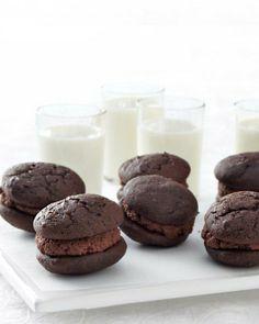 Chocolate Sandwich Whoopie Pies Recipe