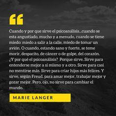 #psicoanálisis #psicología #freud #quotes #marielanger