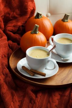 One of my go-to cool weather drinks is this tea latte filled with pumpkin spice. It's the perfect way to start the day on a chilly morning or wind down in the evening. I make it with Rooibos tea so I can enjoy all the seasonal flavors minus the caffeine jitters.
