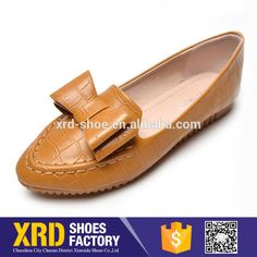 Ladies flat loafer shoes women casual shoes
