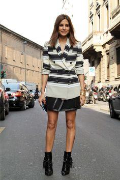 Christine Centenera wears Ellery blazer. Proenza Schouler skirt. Altuzarra ankle boots.