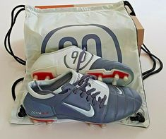 92f5543cfd92 OG 2004 NIKE AIR ZOOM TOTAL 90 III FG FOOTBALL BOOTS SOCCER MANIA VAPOR  BNIB UK8
