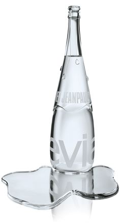Jean-Paul Gaultier x Baccarat Haute Couture Evian Collection, Source Bottle.