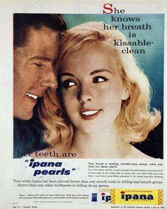 Ipana toothpaste, 1961