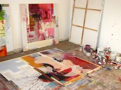 Inside studio - Peter Vahlefeld