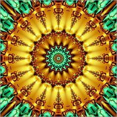 Christine Bässler - Mandala Gold 2