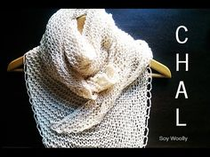 mari luz llamas vazquez shared a video Knitted Shawls, Crochet Shawl, Knit Crochet, Shawl Patterns, Knitting Patterns, Knitting Videos, Love Crochet, Sewing, Wraps