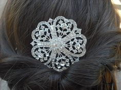 20% OFF - Serenity Collection, Rhinestone Hair Comb, Victorian Art Deco Bridal Hair Comb, Vintage Style Hair Accessories, Wedding Hair Comb
