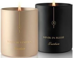 Guerlain scented candles.  This must smell divine!