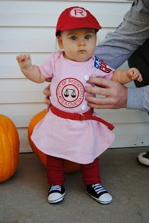 Rockford Peach Halloween Costume Seasoned With Style  sc 1 st  Pinterest & Rockford Peach Toddler Halloween Costume | Thereu0027s No Crying In ...