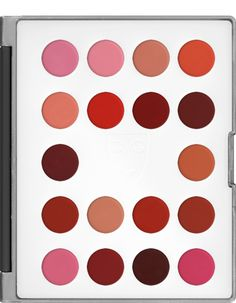 lips kryolan kryolan maquillage lipcolor makeup makeup lips mini palette palette 18 palette lips rouge palette foundation mini - Colori Maquillage