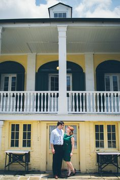 New Orleans Wedding Engagement via Betty Clicker Photography