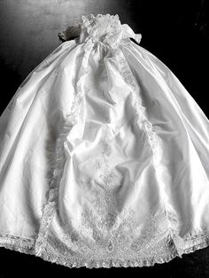 love this antique christening gown!!
