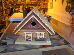 The Cottage by birdhousespappajoe on Etsy, $200.00