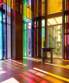olson kundig architects flood gethsemane church in color - designboom | architecture & design magazine