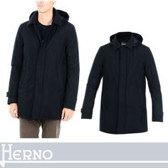 HERNO ダウンジャケット HERNO 柔らかな軽快感で着こなす大人の余裕 フード付ダウン
