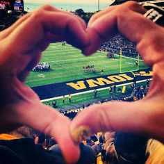 I took this pic at Kinnick!!