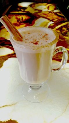 The Whiskey Chai Latte (complete with recipe) is the best winter drink at the Stanley Hotel's famous whiskey bar!  They have the most variety of whiskeys in Colorado and soon in the whole western US! Delicious hot toddy option that's a bit easier going down.