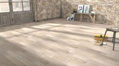 1000 images about wood floor on pinterest saints eden - Parquet massif blanchi vieilli ...