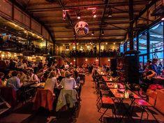 The 12 best bars in Amsterdam Best Bars In Amsterdam, Distillery, Brewery, Corner Door, Dutch House, Wine List, Light Installation, Tasting Room, Exposed Brick